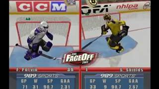NHL Faceoff 2003 (PS2) Kings vs Bruins