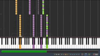 The Ramones-Blitzkrieg Bop(Piano Cover By Synthesia) HD!!