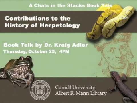 Adler, History Of Herpetology
