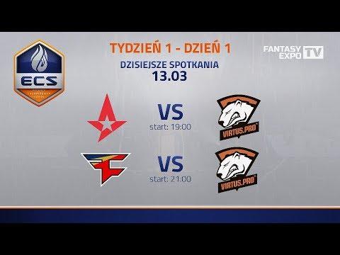 ECS Sezon 5 | Virtus.Pro vs FaZe, Virtus.Pro vs Astralis  | komentuje: vuzzey