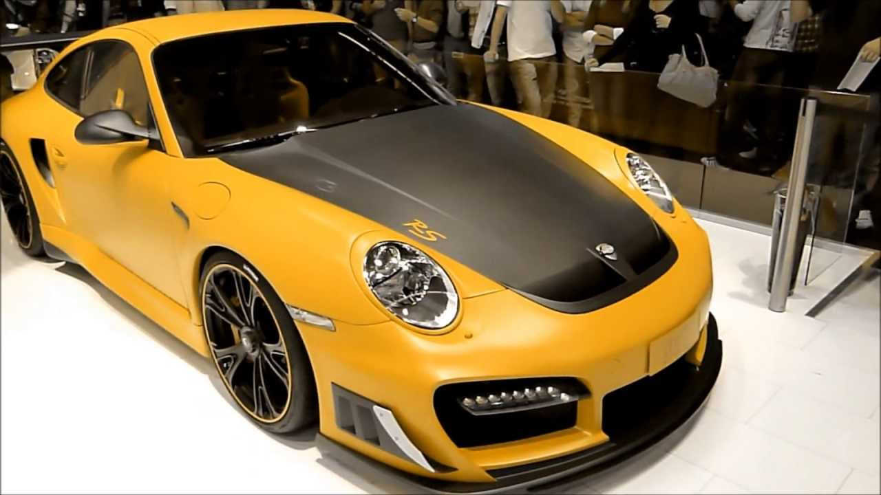 color changing techart gtstreet rs porsche 911 gt2 rs see also playlist. Black Bedroom Furniture Sets. Home Design Ideas