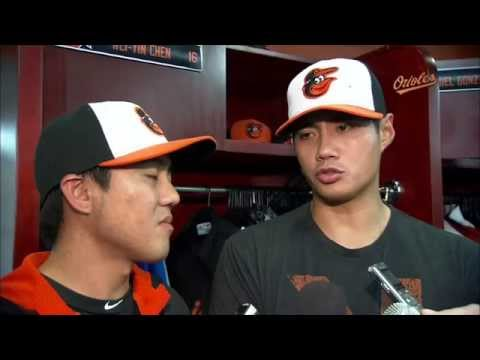 Wei-Yin Chen speaks about his eight-inning outing in the Birds' 5-4 win