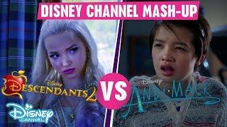Disney Channel Mashup   Descendants 2 VS Andi Mack    Official Disney Channel UK