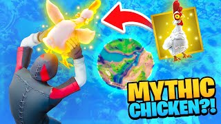 We found the MYTHIC Chicken!