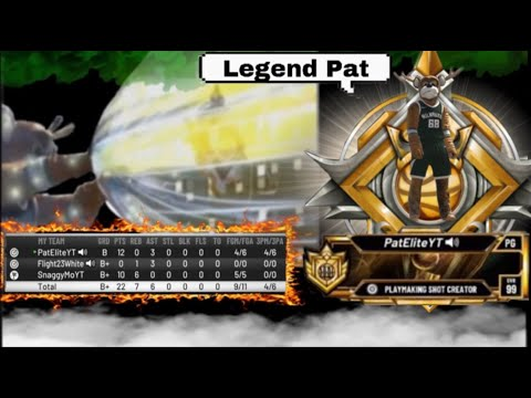 FlightReacts HELPS ME HIT LEGEND IN A TOXIC GAME ON NBA 2K20 |