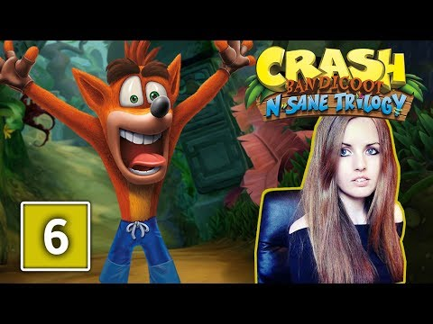 THE HIGH ROAD | Crash Bandicoot N Sane Trilogy Gameplay Walkthrough Part 6