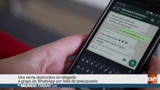 Una secta destructiva es relegada a grupo de WhatsApp por falta de presupuesto  | El Mundo Today 24H