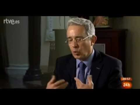 Entrevista al expresidente Álvaro Uribe en Televisión Española