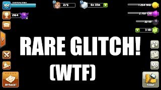 Clash of Clans - RAREST GLITCH TO EVER HAPPEN WTF!