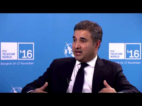 ITU TELECOM WORLD 2016: Ari Sarker, Co-President, Asia Pacific, MasterCard