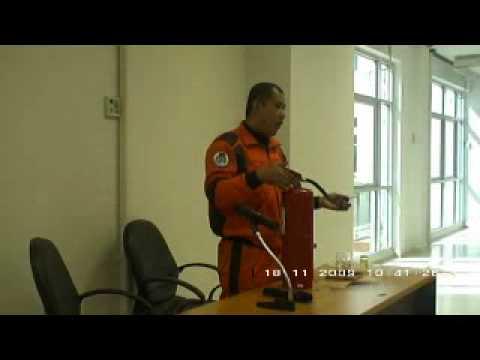 โครงการฝึกอบรมการป้องกันและบรรเทาสาธารณภัยและการดับเพลิงขั้น