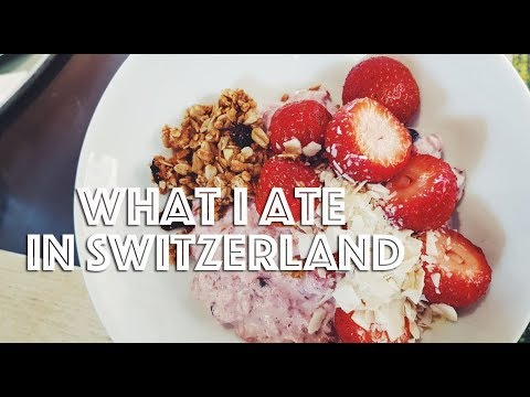 WHAT I ATE IN SWITZERLAND (VEGAN) // EP #41 //