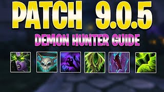 9.0.5 Demon Hunter PvP Shadowlands Guide