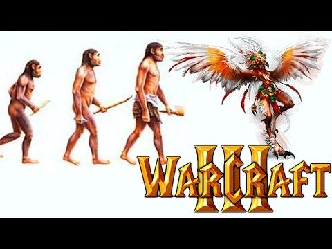 Эволюция видов Warcraft 3 за Гарпию