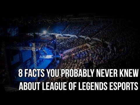 видео: [lol] 8 фактов, которых вы не знали о киберспорте в league of  legends