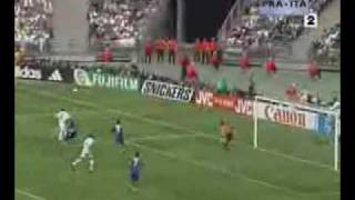 FRANCE ITALIE 1!4 FINAL WORLD CUP 1998