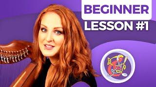 Beginner Irish Harp Lesson 1: Intro + Scale of C + 5 Free Tutorials