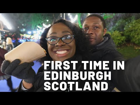 Our First Time Visiting Edinburgh Scotland |Vlog #1
