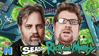 Rick and Morty Creators Reveal SEASON 4 DETAILS!