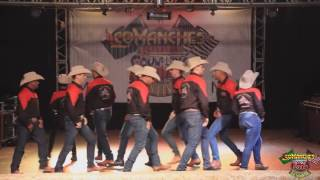 Texas Cowboys no Comanches Country Festival 2016