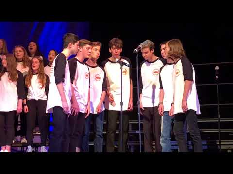 Unami Middle School - Acapella Fest 2018 - Blue Moon