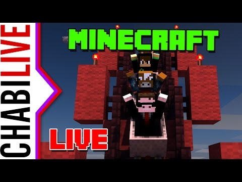 【LIVE】Minecraft itt is, ott is