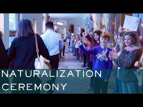 Naturalization Ceremony at Lake Champlain Waldorf School