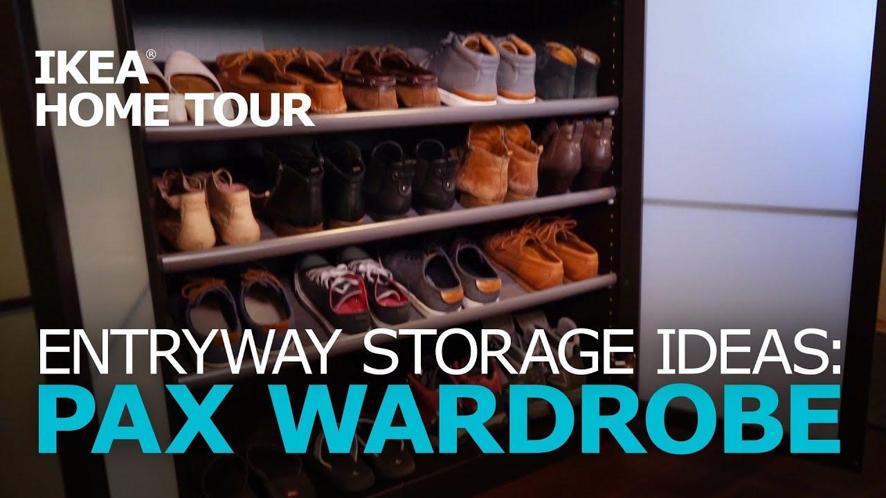 Smart Entryway Storage Ideas Ikea Home Tour Youtube