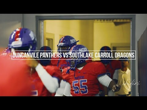 Duncanville Panthers vs Southlake Carroll Dragons | FOOTBALL HIGHLIGHTS