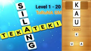 Teka - Teki Silang Game - Gameplay Android   Level 1 - 20 screenshot 1