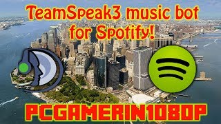 How to get a TeamSpeak 3 Music bot for Spotify