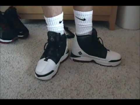 4127a9658be Lebron III Bred on Feet - YouTube