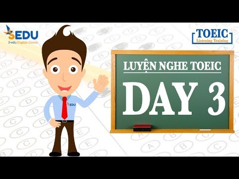 Luyện nghe TOEIC Part 1 (tả tranh) – Day 3