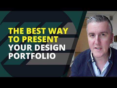 The Best Way to Present Your Design Portfolio