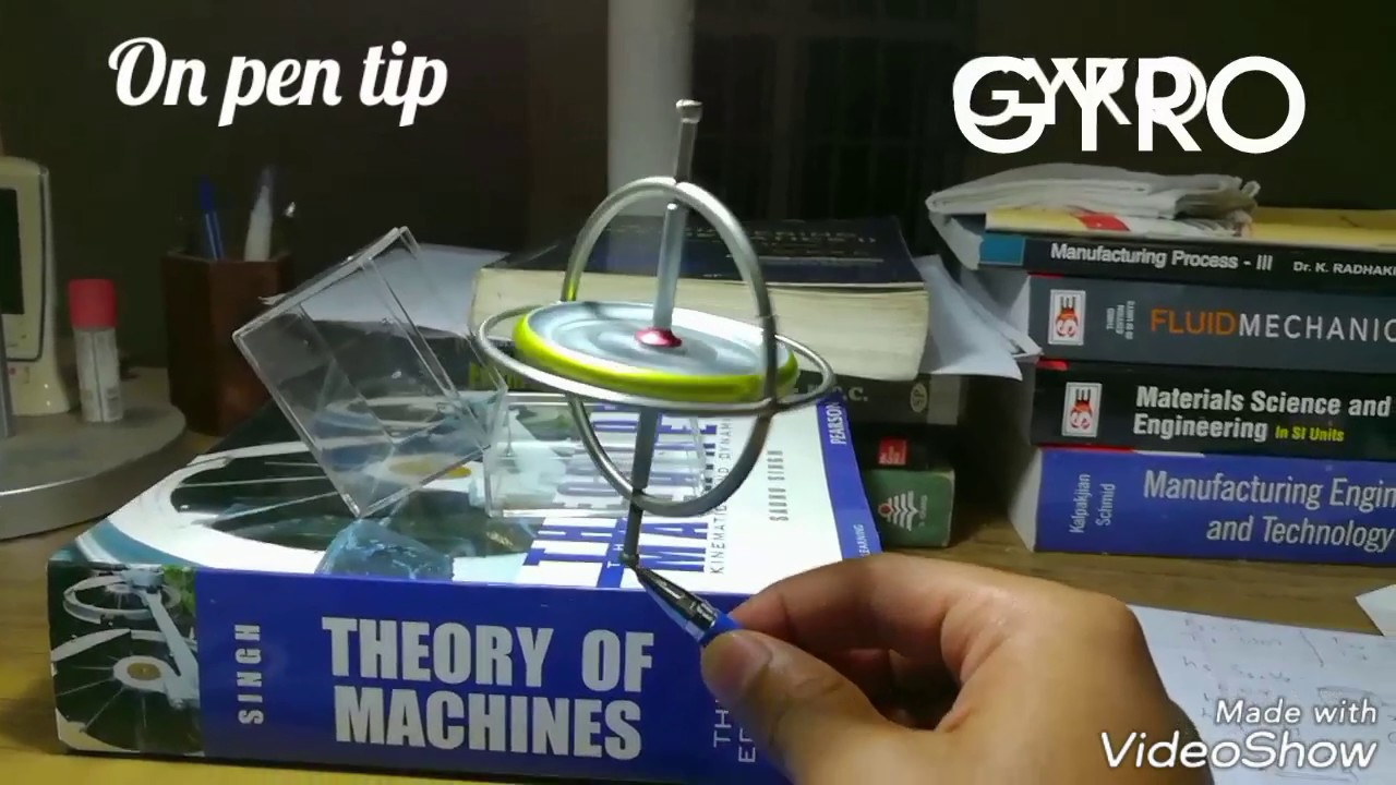 Toys of a Mechanical Engineer  1-GYROSCOPE