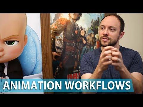 Animation Workflow Tips - Supervising Animator Ben Willis