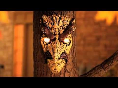 Testa d'albero parlante Ent Barbalbero Il Signore degli Anelli