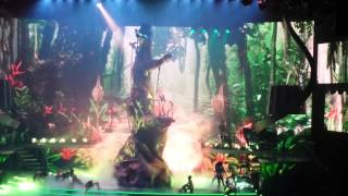 Britney Toxic Jungle live in Vegas