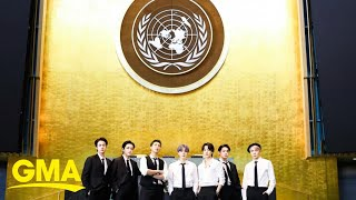 BTS on COVID-19 pandemic's mental toll, band's viral UN appearance l GMA