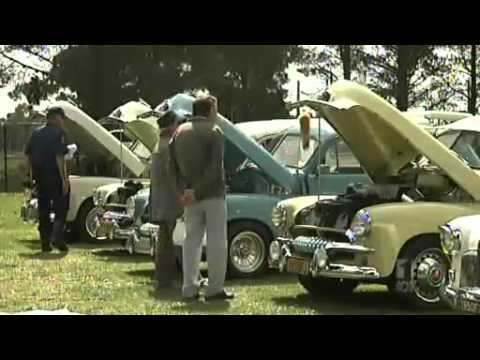 Classic cars on show in Canberra
