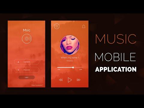 Speed Art - Msic (Mobile Application) UI/UX