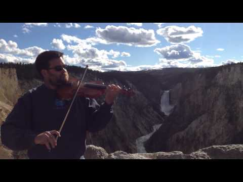 """Fiddlin' Across America - """"This Land Is Your Land"""" in Yellowstone National Park"""