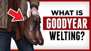 Goodyear Welted Shoes | The BEST dress shoe for men? | RMRS