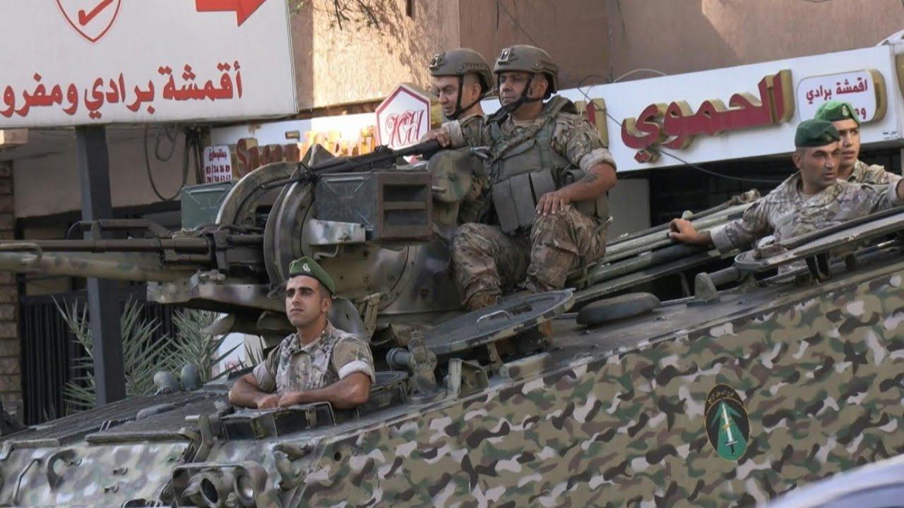Download Tensión extrema en Líbano tras los violentos enfrentamientos en Beirut | AFP