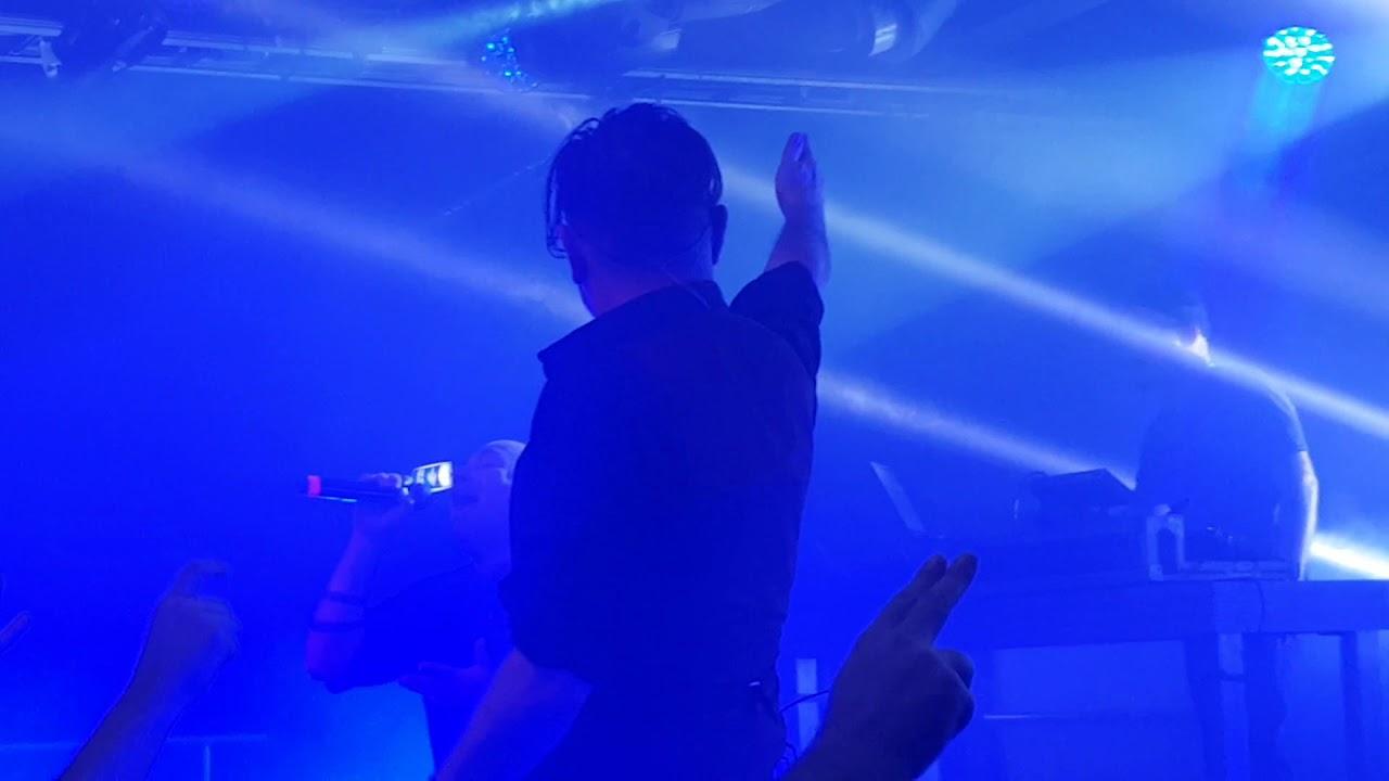 """Download Nitzer Ebb """"Getting closer"""" live at Kraken, Stockholm December 6 2018"""