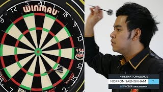 Noppon Saengkham | The BetVictor 9 Dart Challenge | World Snooker