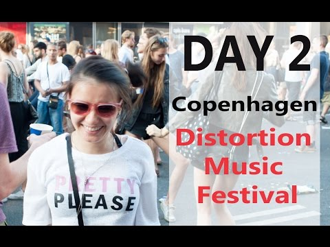 Europe Tour Vlog Day 2 Copenhagen Distortion Music Festival