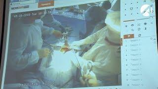 В астраханском онкодиспансере провели видеоурок
