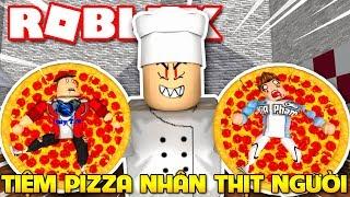 Roblox | 2 THÁNH NHÂY CỰC TRỐN KHỎI TIỆM PIZZA THỊT NGƯỜI - Escape The Evil Pizzeria | KiA Phạm