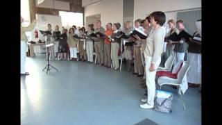 Hindemith: Six Chansons door Dékoor o.l.v. Joost Hekel